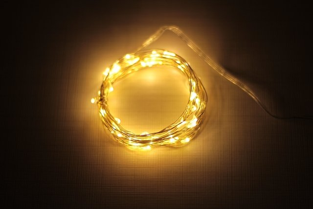 String light prata warm 5 metros - comprar online