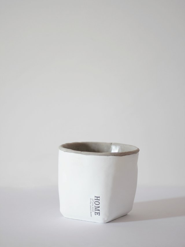 Vaso Home Branco M na internet