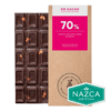 Dr Cacao Chocolates 70% cacao con avellanas X 70 Grs