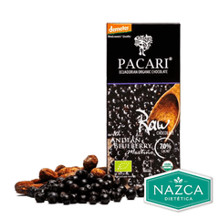 Pacari Chocolates Orgánicos Premium - Blueberry