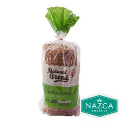 PAN MULTICEREAL CON SEMILLAS NATURAL BREAD X 520 GR