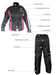 Traje impermeable TOURING