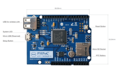 PHPoC WiFi Shield for Arduino - comprar online