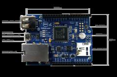 Arduino Ethernet Board UDP communication between