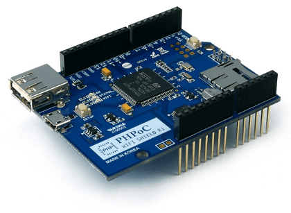 PHPoC WiFi Shield for Arduino en internet