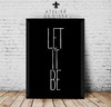 -- Let It Be (Fundo Preto) -- A partir de - comprar online