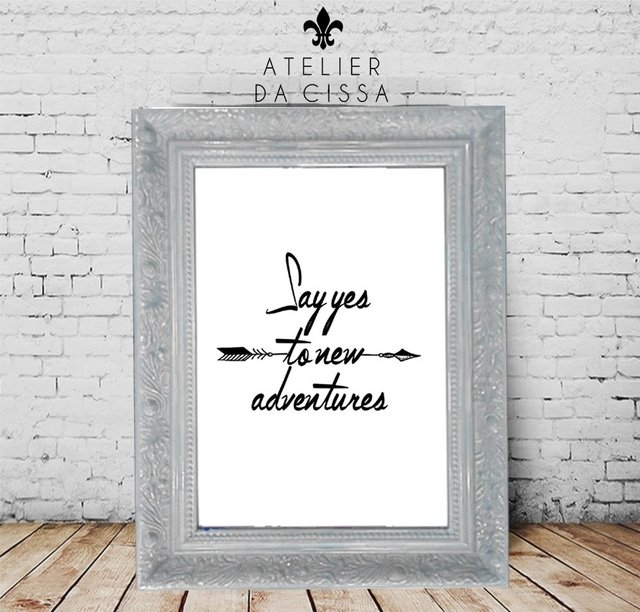 --  Say Yes To New Adventures -- A partir de