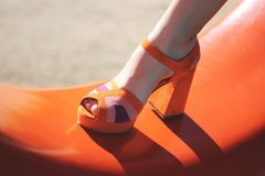Yenga · Naranja - LOMM Shoes - Zapatos Exclusivos 100% Cuero