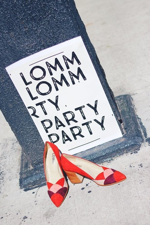 PARADISE · ROJO - LOMM Shoes