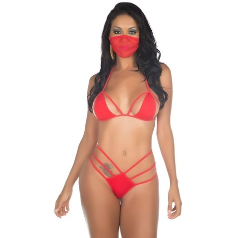 MINI FANTASIA NINJA - Intenções Picantes Sex Shop