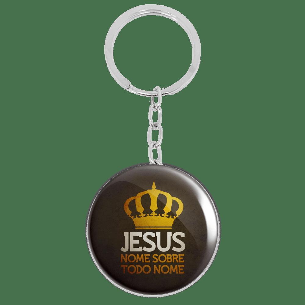2cdab7d2c3578 Chaveiro Jesus Nome Sobre Todo Nome - Alleluia Store