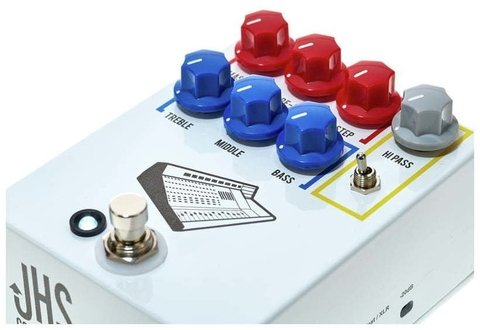 Pedal JHS Colour Box Studio Grade Preamp - Kairon Music Srl
