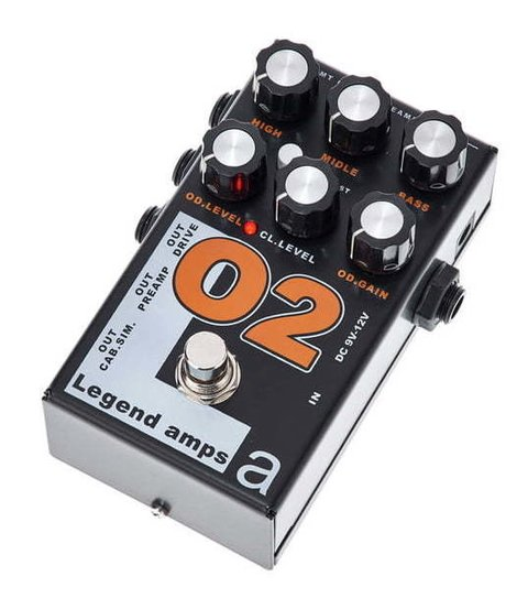 Pedal AMT O2 Legend Amps II Orange Emulates - comprar online