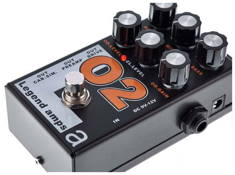 Pedal AMT O2 Legend Amps II Orange Emulates - Kairon Music Srl