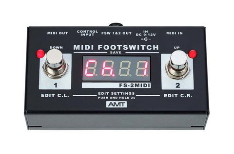 Pedal AMT FS2 M Midi Footswitch - comprar online