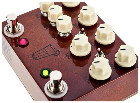 Pedal JHS Sweet Tea 2 In 1 Overdrive Distortion - comprar online