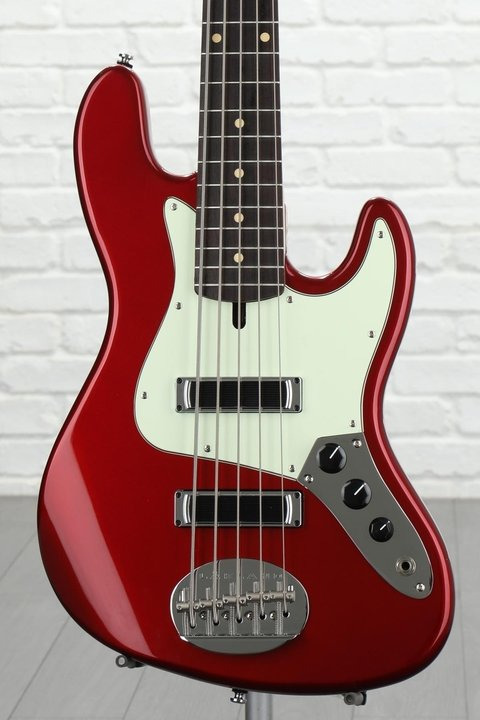 Bajo Lakland Skyline J Sonic 5 Cuerdas Candy Apple Red