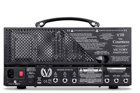 Cabezal Valvular Victory Amps V30 The Countess 30 watts - comprar online