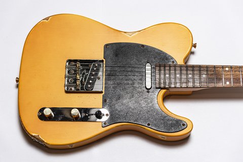 Guitarra Slick Guitars SL51 Butterscotch Telecaster - comprar online