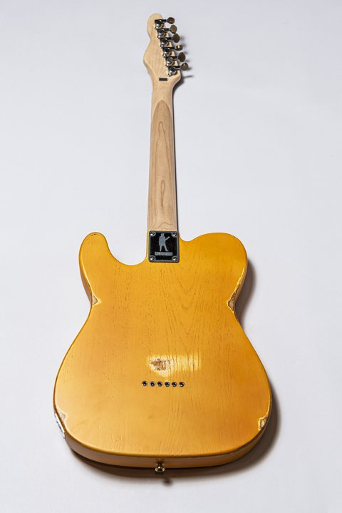 Guitarra Slick Guitars SL51 Butterscotch Telecaster - Kairon Music Srl