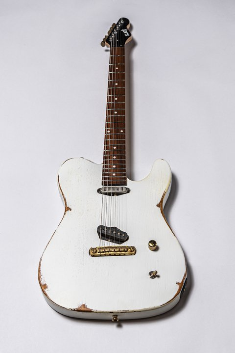Guitarra Slick Guitars SL50 White Telecaster