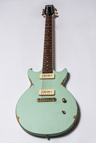 Guitarra Slick Guitars SL60 Surf Green Melody Maker