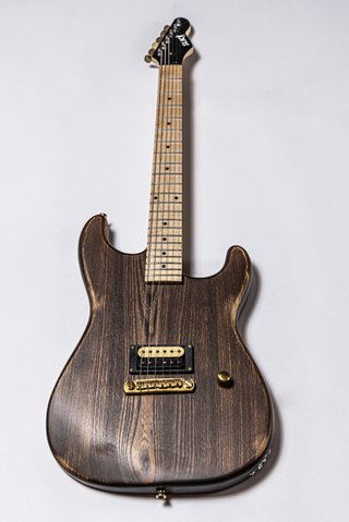 Guitarra Slick Guitars SL54M Brown Woodgrain Stratocaster