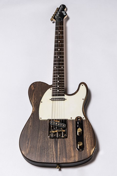 Guitarra Slick Guitars SL51 Brown Woodgrain Telecaster