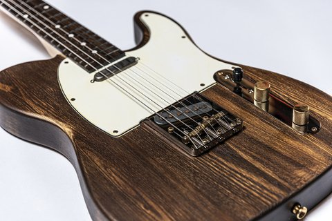 Guitarra Slick Guitars SL51 Brown Woodgrain Telecaster en internet