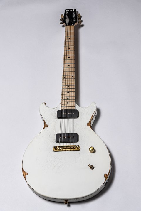 Guitarra Slick Guitars SL60m White Melody Maker