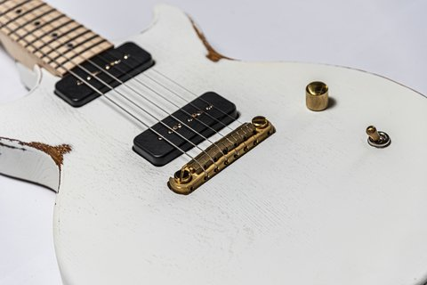 Guitarra Slick Guitars SL60m White Melody Maker en internet