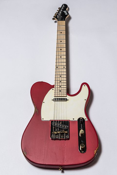 Guitarra Slick Guitars SL51M CR Telecaster