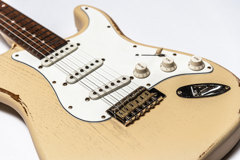Guitarra Slick Guitars SL57 Vintage Cream Stratocaster en internet
