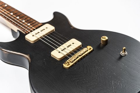 Guitarra Slick Guitars SL60 Black Melody Maker - comprar online