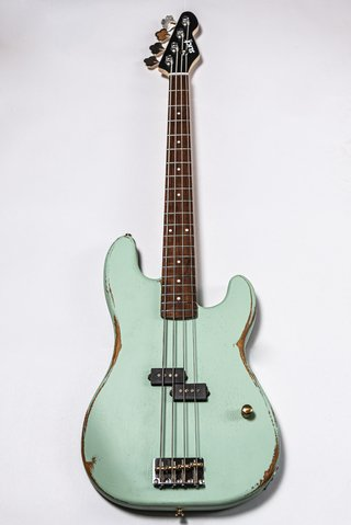 Bajo Slick Guitars SLPB Surf Green Precision