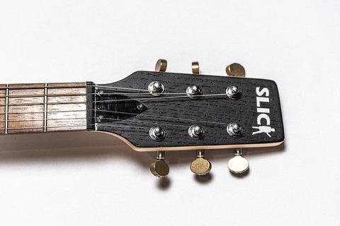 Imagen de Guitarra Slick Guitars SL52 Black Les Paul