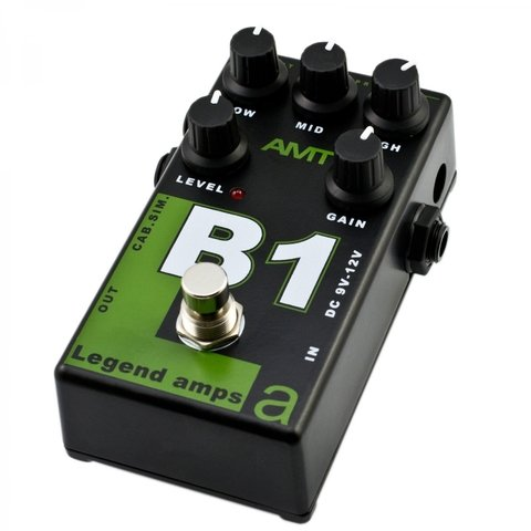 Pedal AMT B1 Legend Amps Bg Sharp Emulates - comprar online