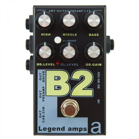 Pedal AMT B2 Legend Amps II Bg Sharp Emulates