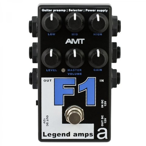 Pedal AMT F1 Legend Amps Fender Twin Sound Emulates
