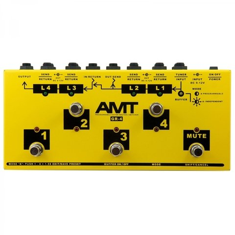AMT GR4 Loops De Efectos Programable Switcher