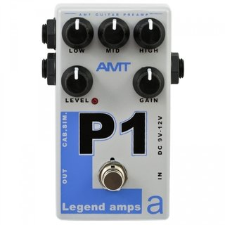 Pedal AMT P1 Legend Amps 5150 Emulates
