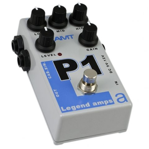 Pedal AMT P1 Legend Amps 5150 Emulates en internet