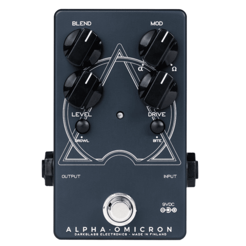 Pedal Darkglass Alpha Omicron Bass Overdrive