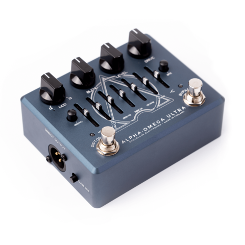 Pedal Darkglass Alpha Omega Ultra Aux In Preamplificador - Kairon Music Srl