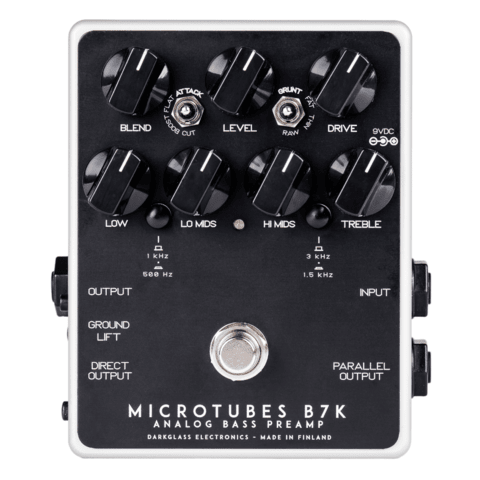 Pedal Darkglass microtubes B7k V2 Bass Overdrive Preamplificador