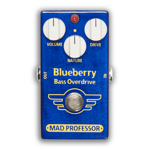 Pedal Mad Professor Blueberry Bass Overdrive