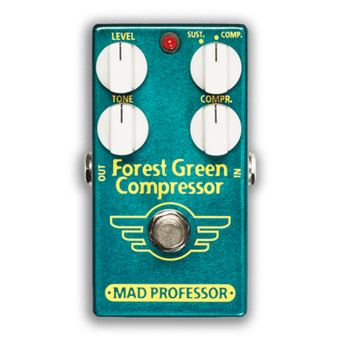 Pedal Mad Professor Forest Green Compressor