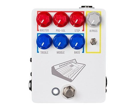 Pedal JHS Colour Box Studio Grade Preamp