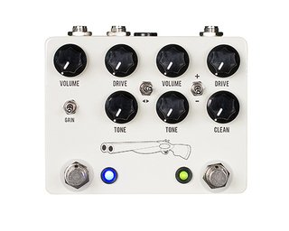 Pedal JHS Double Barrel 2 in 1 Dual Overdrive