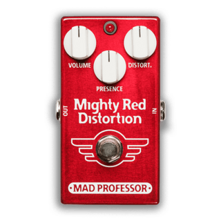 Pedal Mad Professor Mighty Red Distortion